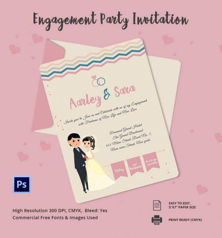 Engagement Party Invitation Samples