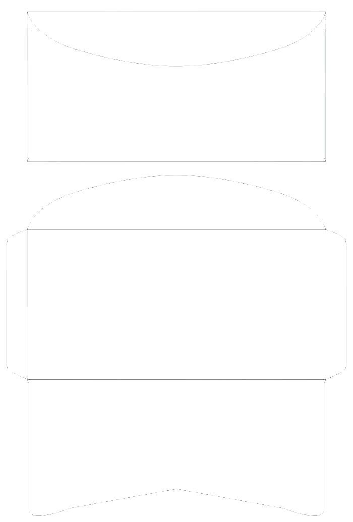 Envelope Mailing Label Template