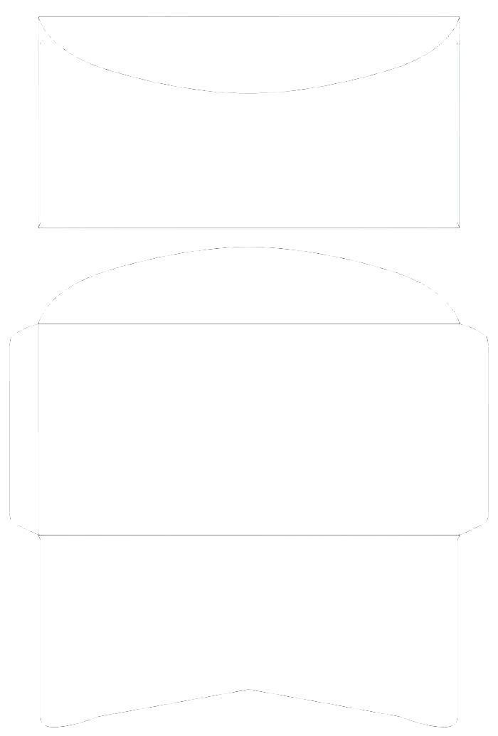 Envelope Mailing Label Template