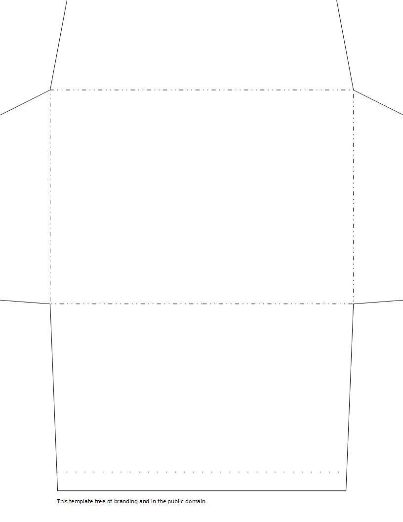 Envelope Printable Templates