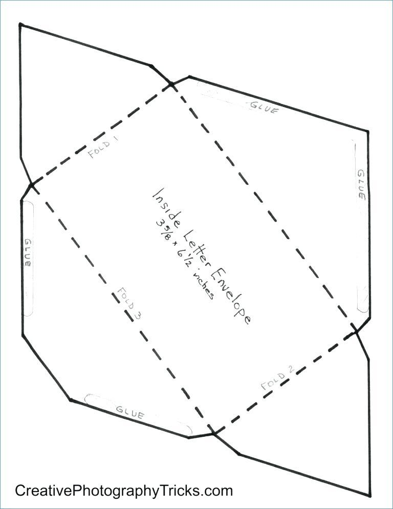 Envelope Size Gift Certificate Template