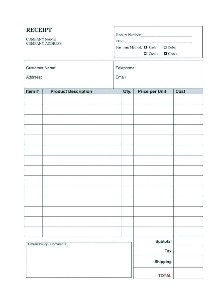 Envelope Template Printing Address