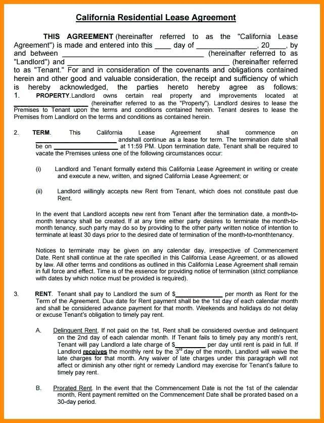 Equipment Leasing Contract Template