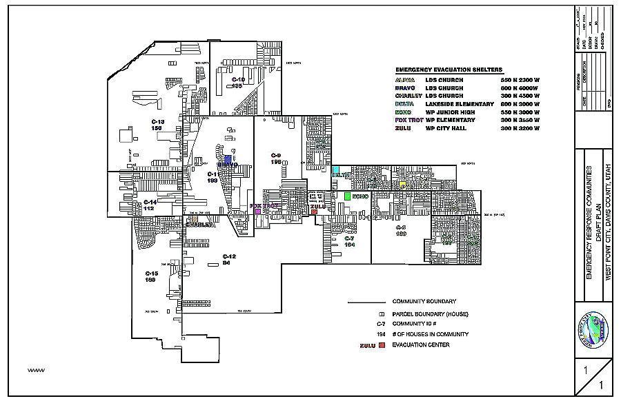 Evacuation Floor Plan Template Free