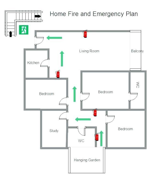 Evacuation Plan Template For Warehouse