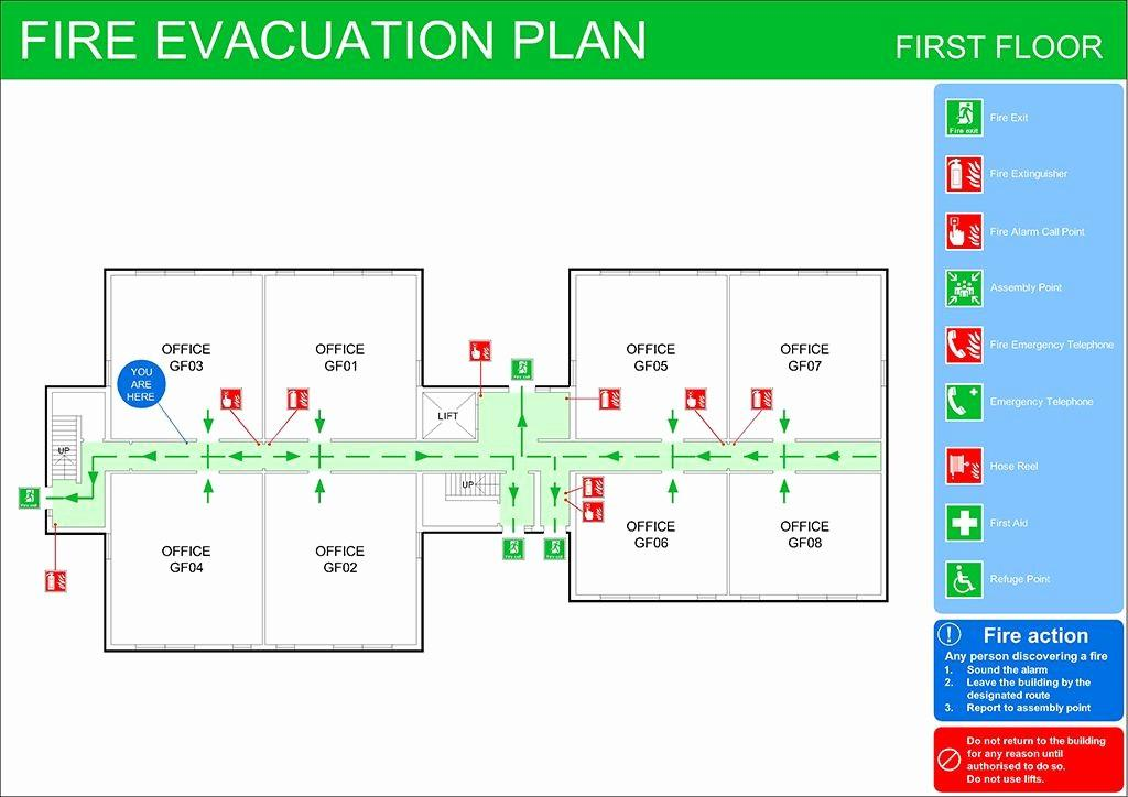 Evacuation Plan Template Wa
