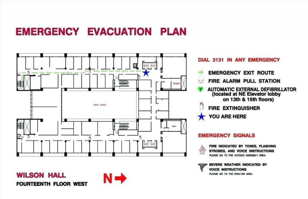Evacuation Plans Template
