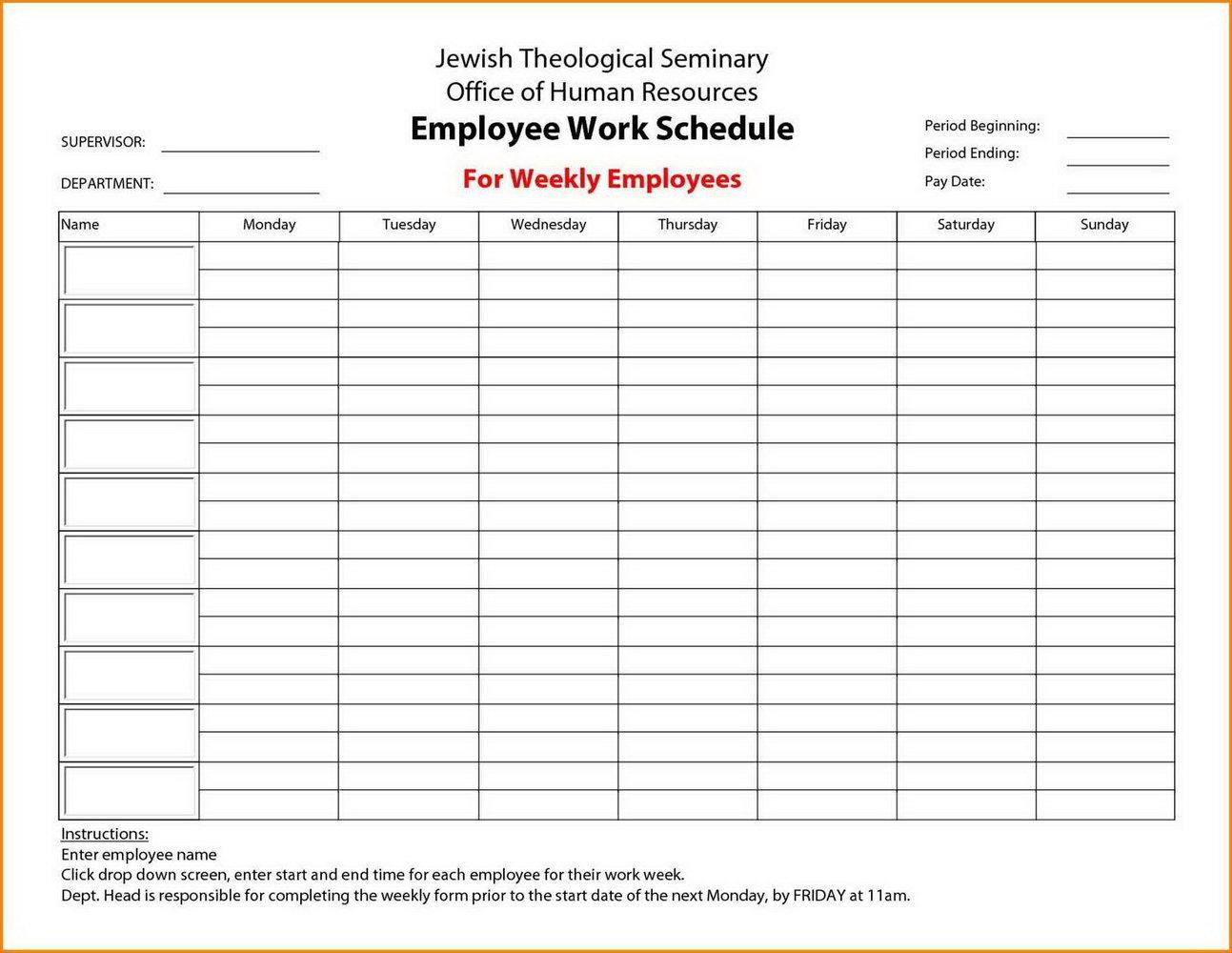 Event Calendar Maker Excel Template Download