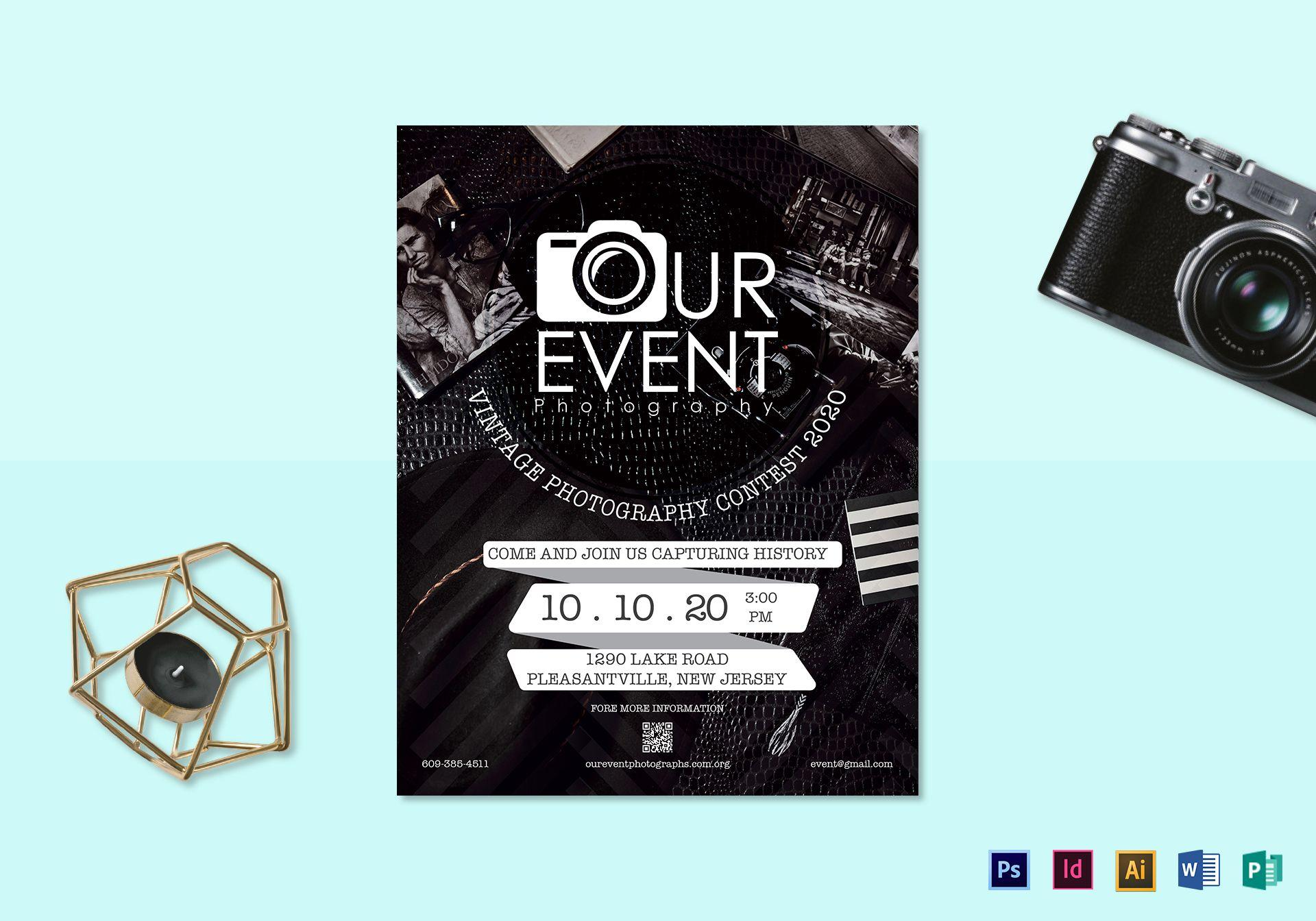 Event Flyer Template Indesign
