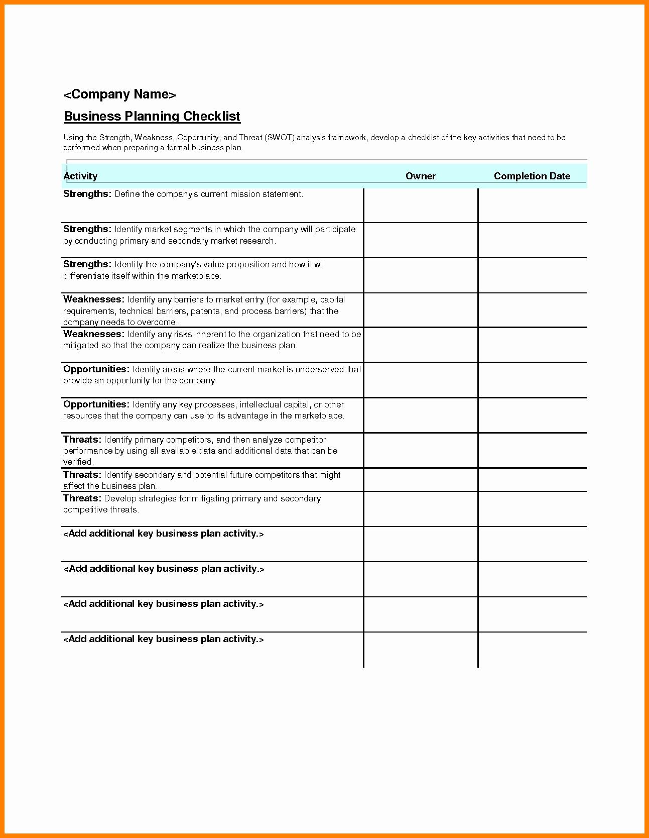 Event Planning Excel Templates