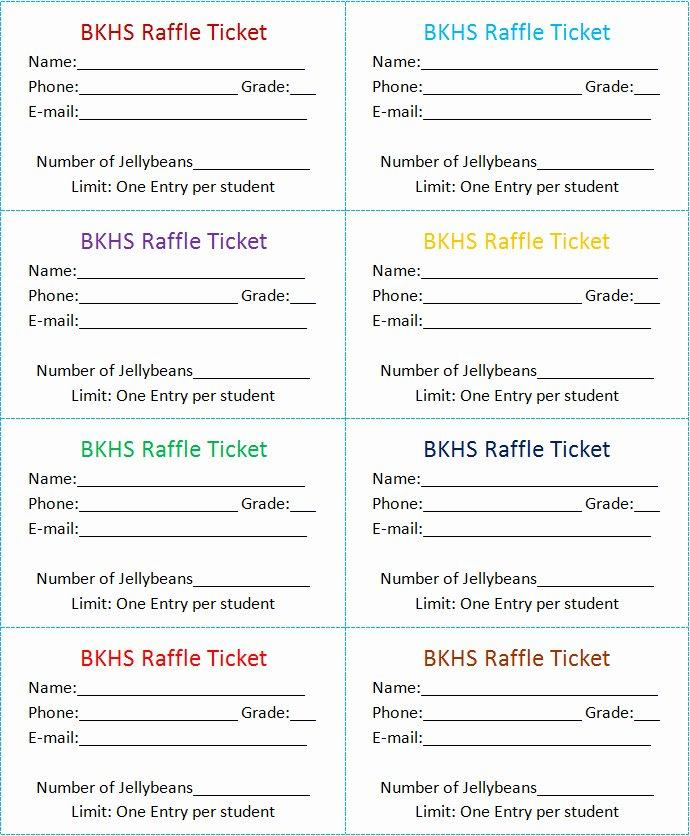 Event Ticket Template Free Publisher