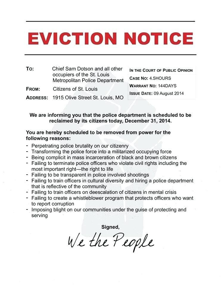 Eviction Notice Template Nz