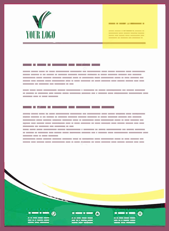 Example Company Letterhead Templates