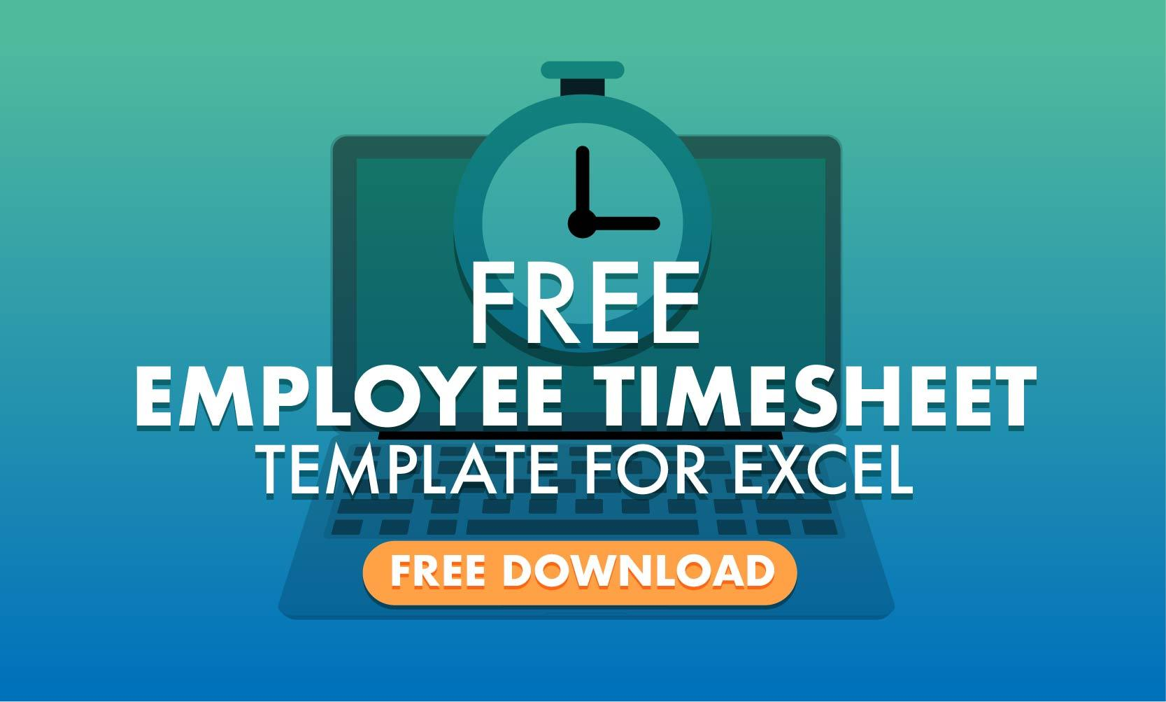 Excel Biweekly Timesheet Template With Lunch