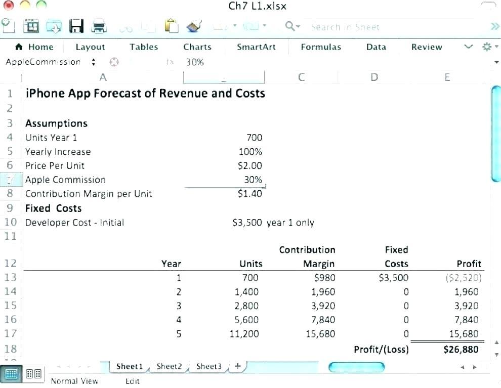 Excel Bookkeeping Journal Template