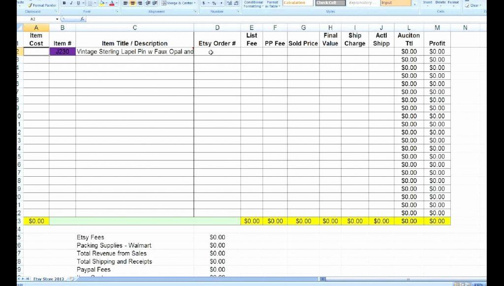 Excel Bookkeeping Template Uk