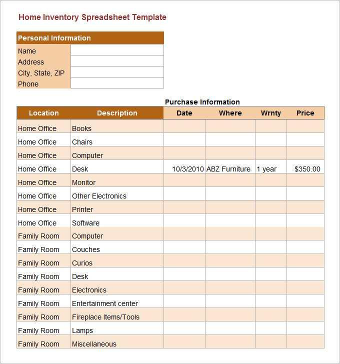 Excel Database Forms Templates