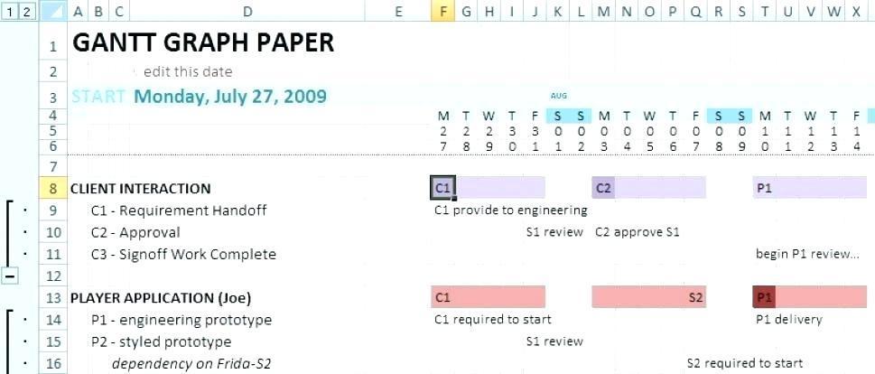 Excel Gantt Chart Template Tutorial