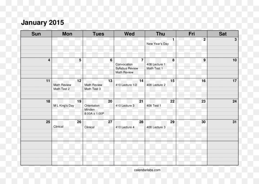 Excel Monthly Calendar Template Download