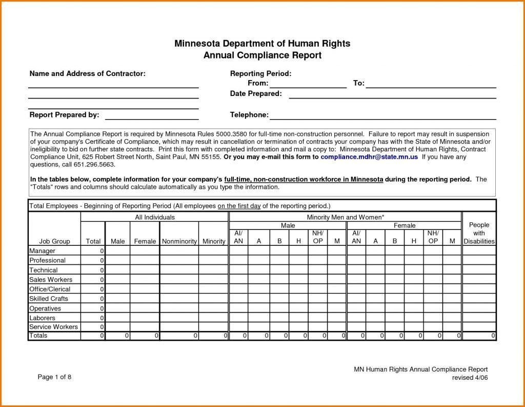 Excel Sales Reporting Templates