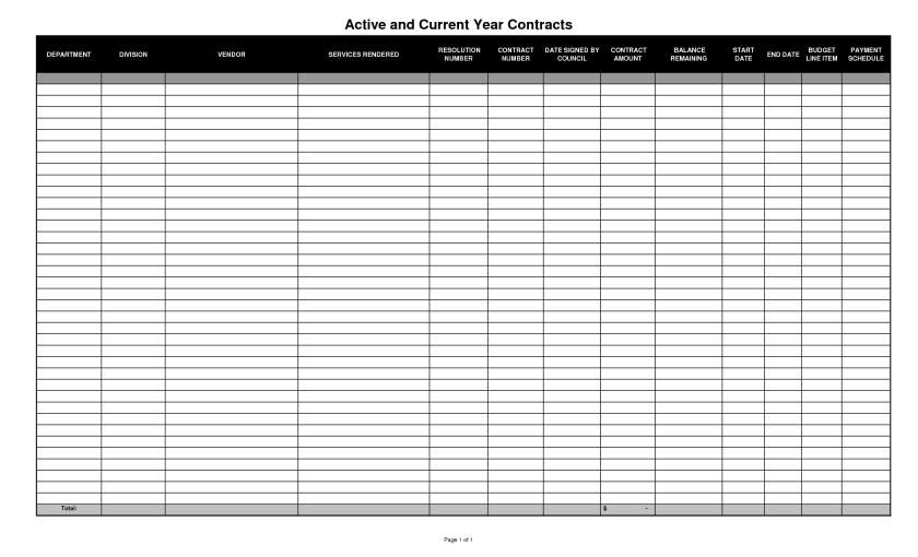 Excel Spreadsheet Templates For Tracking Payments