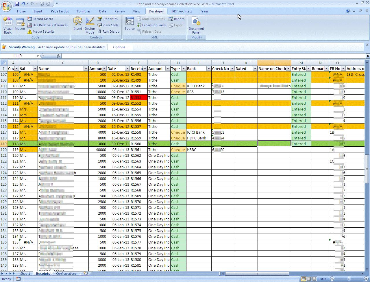 Excel Templates For Accounting Profit And Loss
