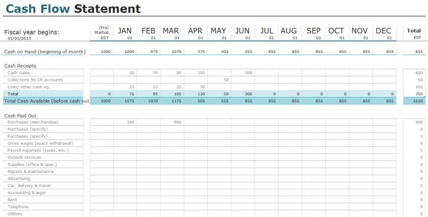 Excel Templates For Home Accounting