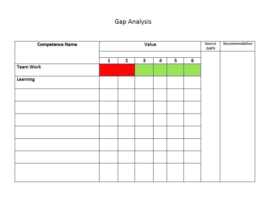 Excel Training Matrix Templates
