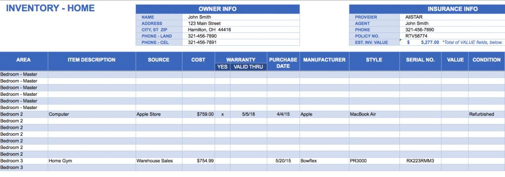 Excel Vba Inventory Management Template Free Download