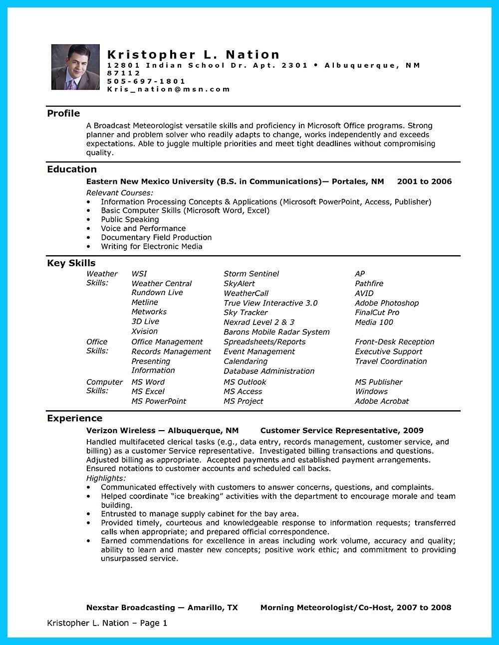 Executive Assistant Curriculum Vitae Example
