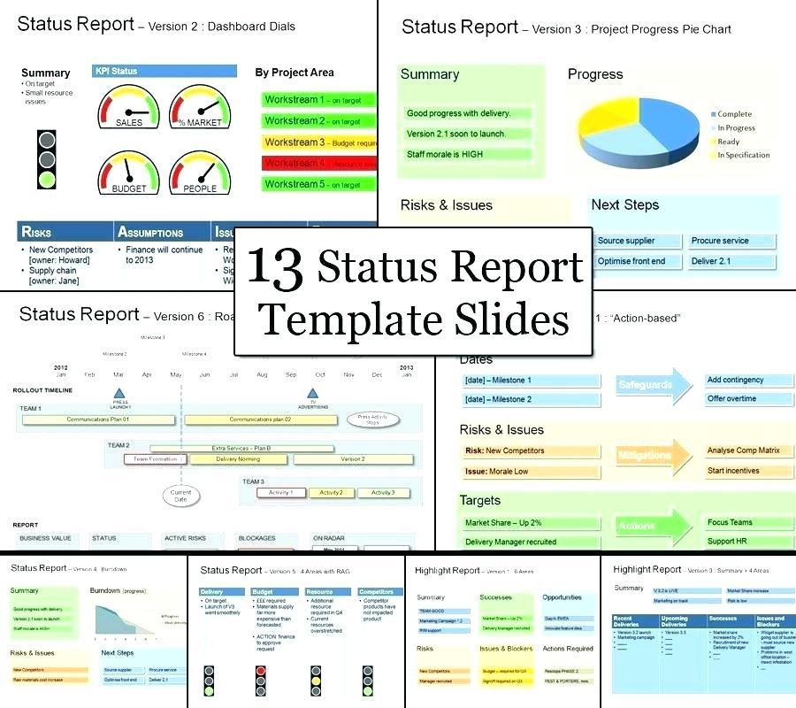 Executive Dashboard Report Template