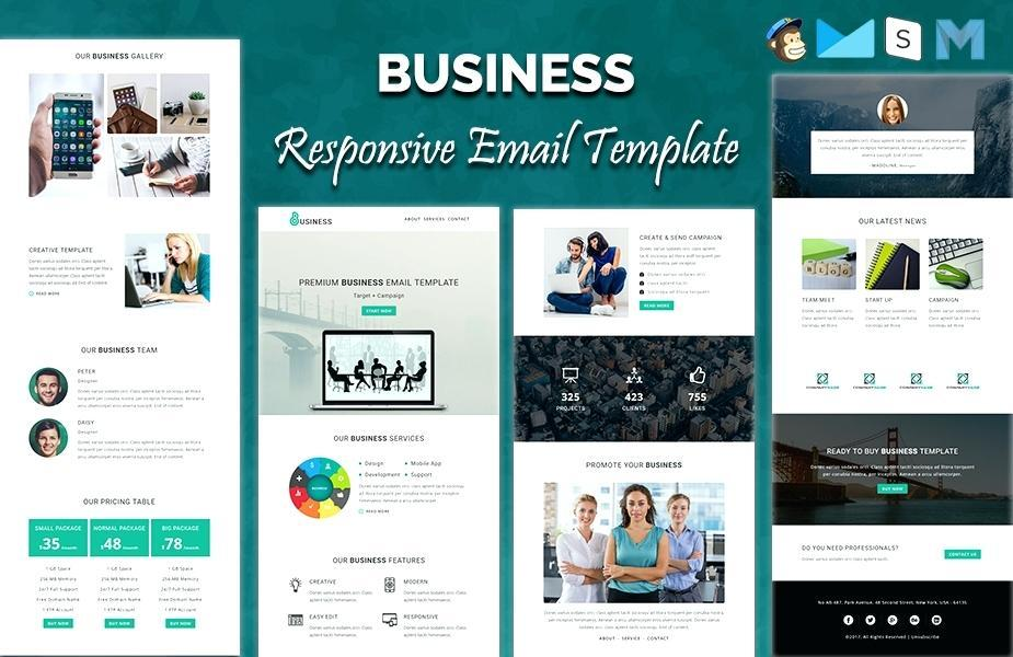 Exon Responsive Email Newsletter Template Nulled