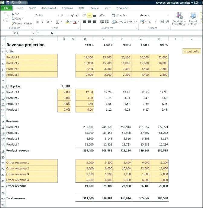 Expenses Balance Sheet Template