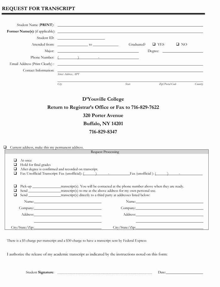 Fake College Transcript Template Download
