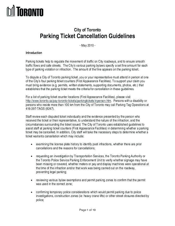Fake Parking Violation Ticket Template