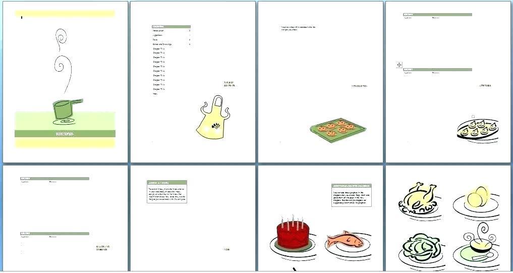 Family Cookbook Templates