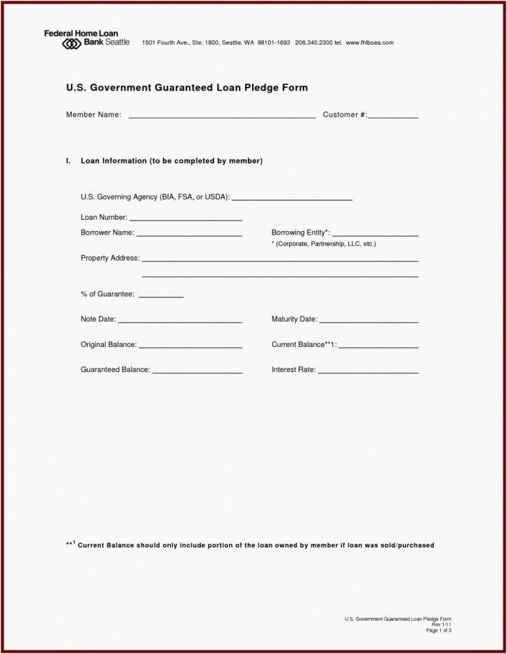 Family Loan Promissory Note Template