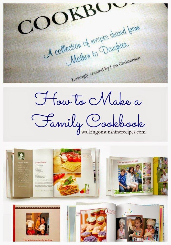 Family Recipe Cookbook Template