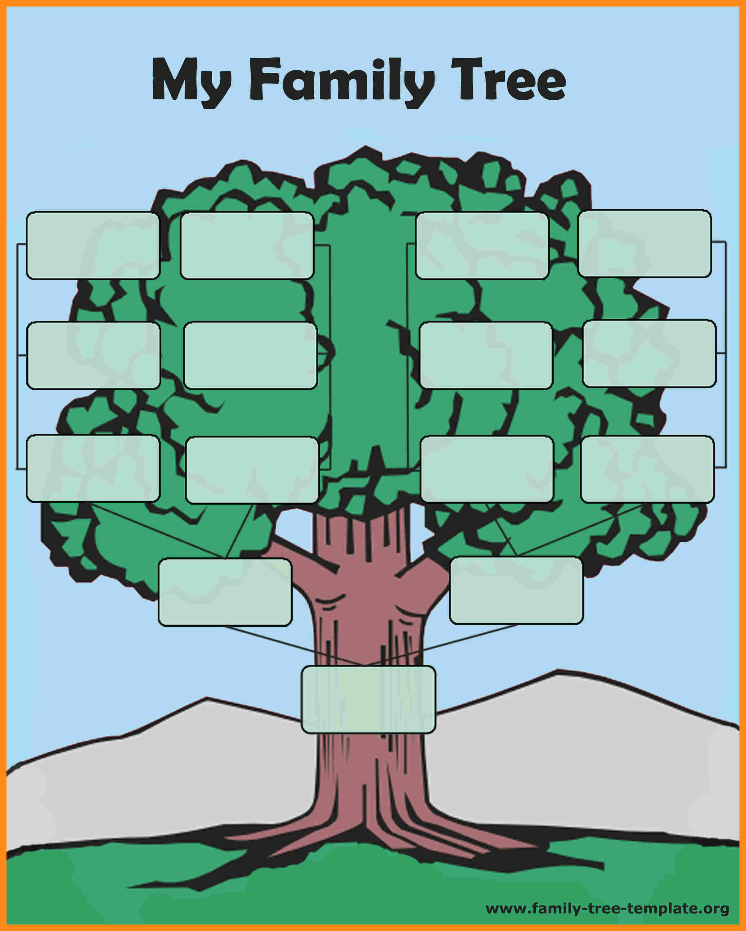 Family Tree Maker Templates With Pictures