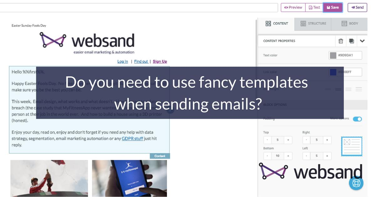 Fancy Email Templates