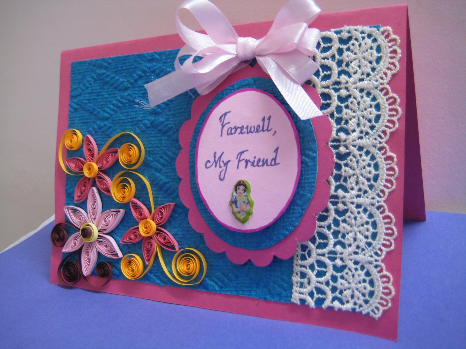 Farewell Party Invitation Cards For Teachers