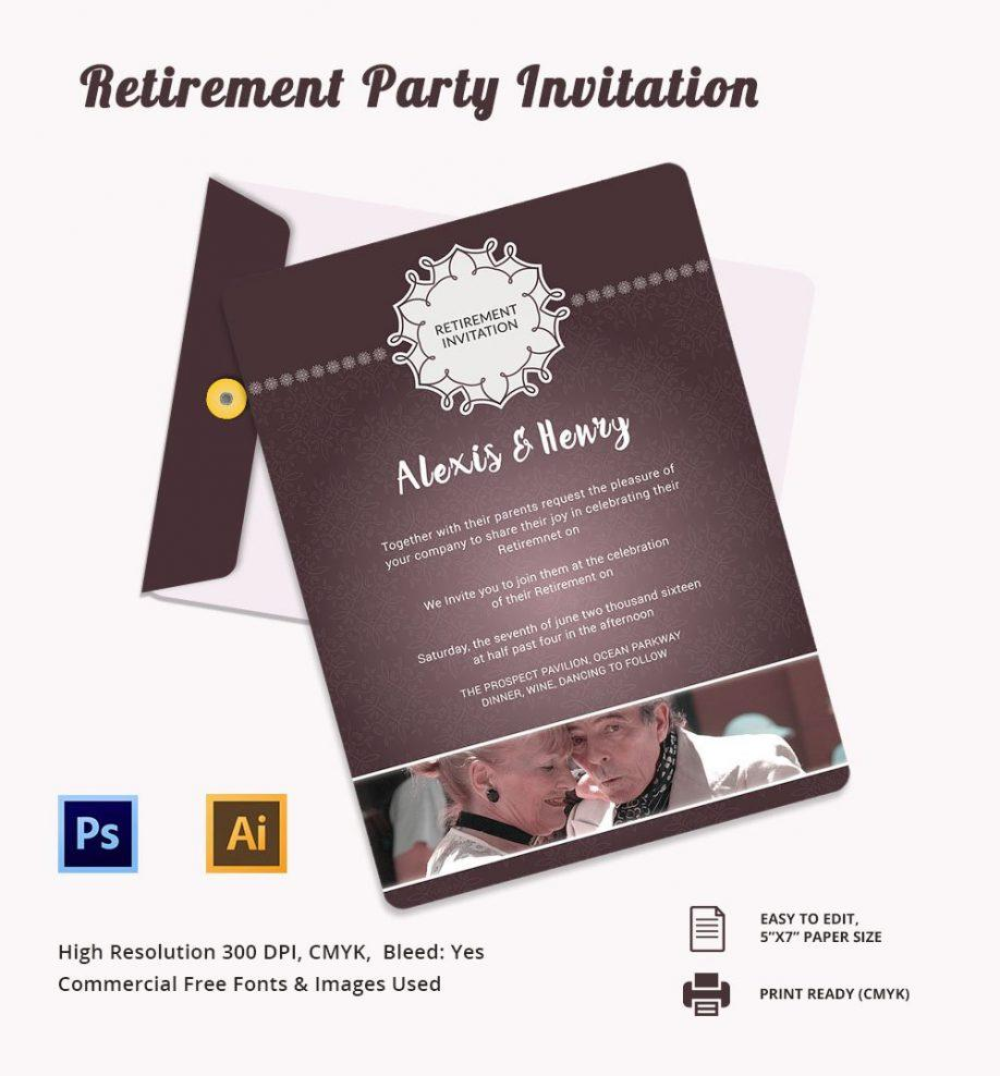 Farewell Party Template Microsoft Word