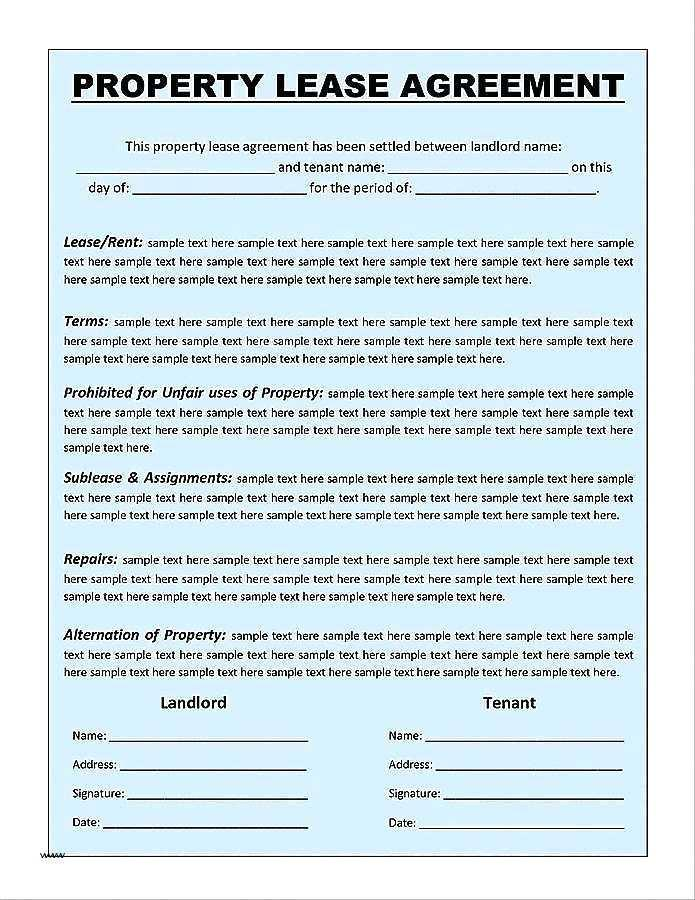 Farm Lease Agreement Template Nz
