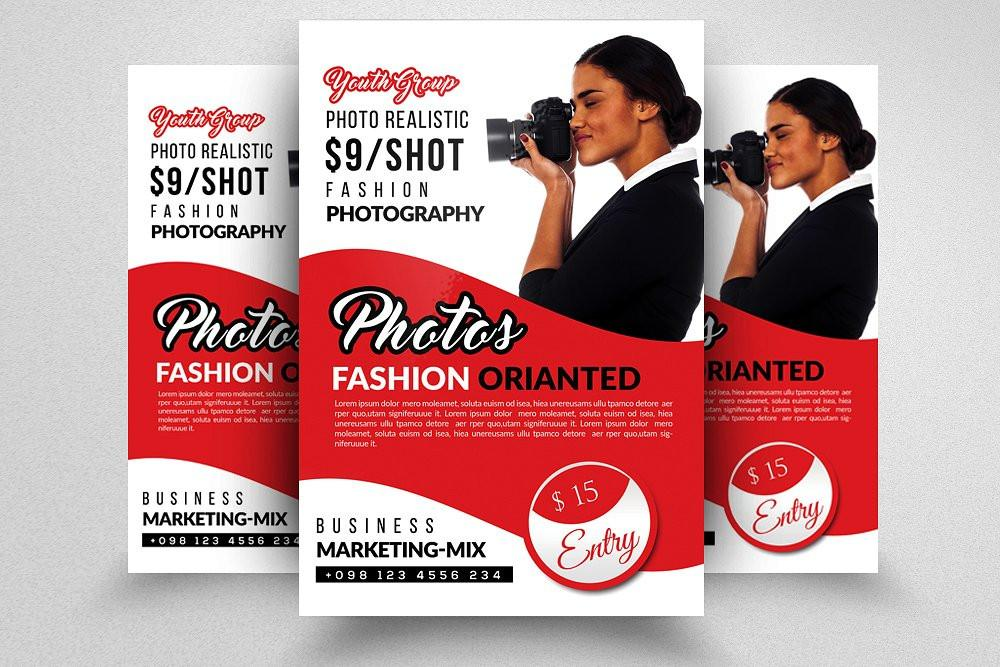 Fashion Flyers Templates For Free