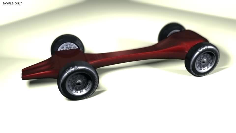 Fast Pinewood Derby Car Plans