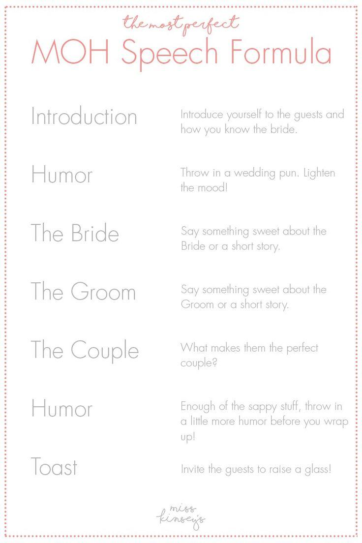Father Of The Bride Speech Template Free