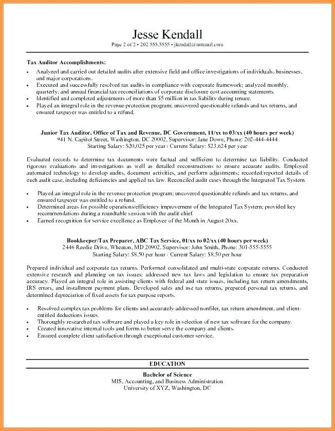 Federal Resume Template Microsoft Word Download