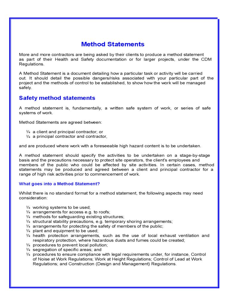 Fencing Risk Assessment Template