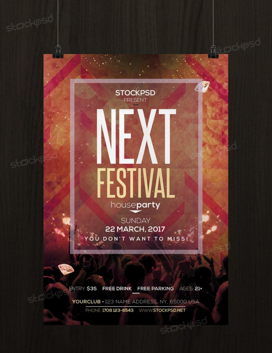 Festival Flyer Template Free Download