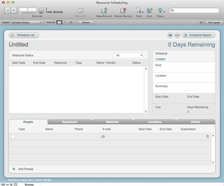 Filemaker Go Templates Iphone